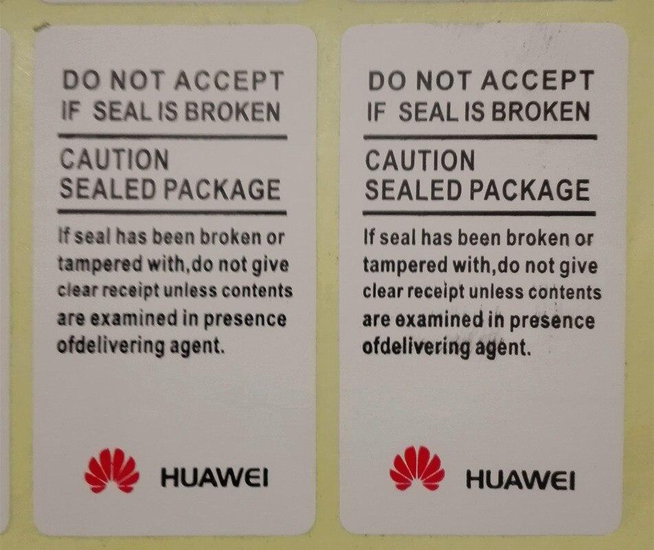 100 шт/много продвинутых качественных наклеек Гарантия huawei печать этикеток наклейки 4,5x2,5 см Бесплатная доставка