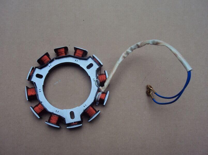 STARPAD For Diesel Tiller Accessories 178F 186F 186FA Electric start charging coil flywheel generator machine