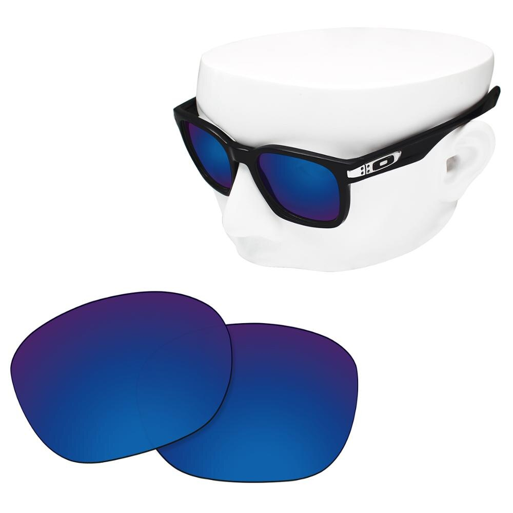 OOWLIT Polarized Replacement Lenses of Deep Water for-Oakley Garage Rock OO9175 Sunglasses