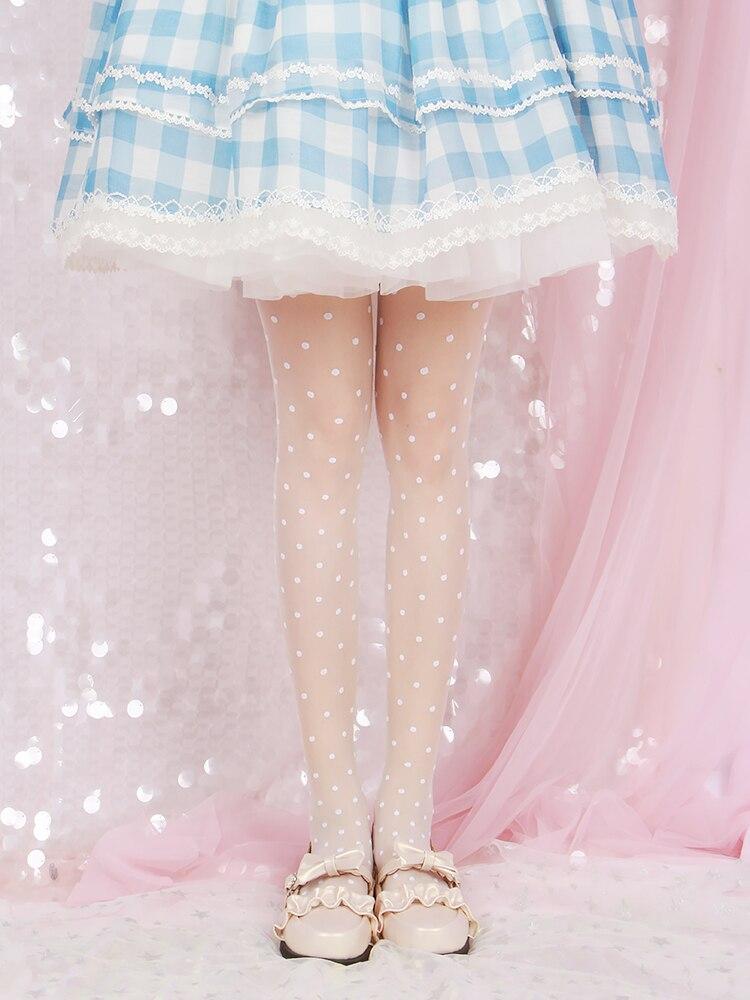 Pantis de princesa dulce lolita primavera y verano 10D punto fino pantis de lolita chica Sexy y Linda pantis mujeres WGR022