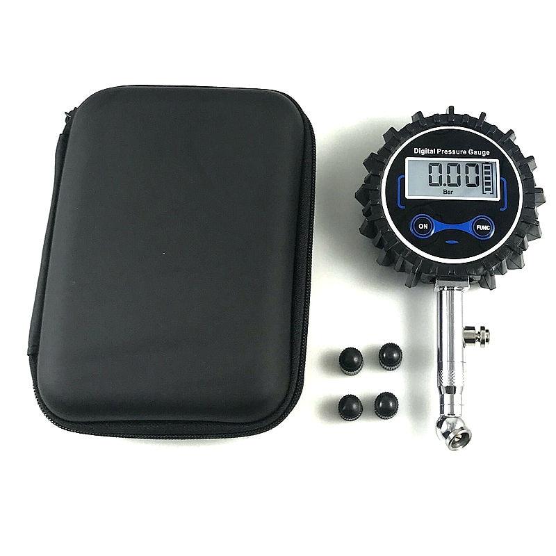 Манометр для шин, цифровой портативный прибор для измерения давления в шинах автомобилей и мотоциклов