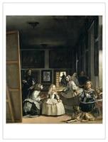 frameless canvas painting deco art poster european velazquez diego rodriguez de silva y the family of felipe iv or las meninas