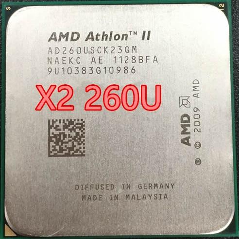 Amd Athlon Ii X2 260U X2 260 AD260USCK23GM 1.8 Ghz AM3 938-Pin 25W/Dual-Core 2M Cache Desktop Cpu