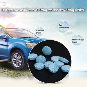 6PCS Car Accessories Car Windshield Cleaning Glass Cleaner FOR fiat punto 500 bravo freemont stilo panda linea ducato styling