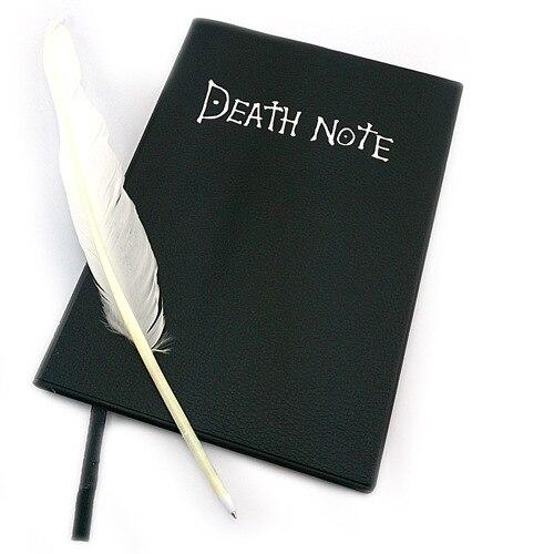 2020 Death Note планировщик Аниме Дневник мультяшная книга Милая модная тема Ryuk Косплей большая записная книжка