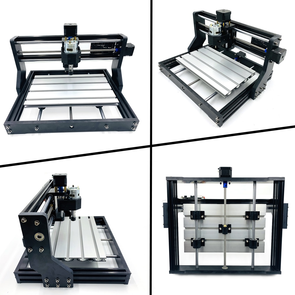 CNC Milling Machine30*18Pro Engraver 15W/40W Laser  CNC Router  3 Axis GRBL Control Laser Engraving Machine DIY Wood Router PCB enlarge