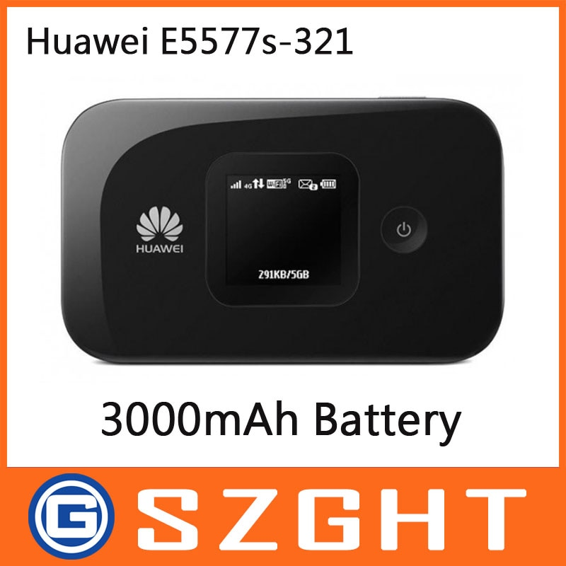 Desbloqueado Huawei E5577s-321 Router 150Mbps 3000mAh batería de la batería módem huawei e5577 módem huawei e5577s-932 router
