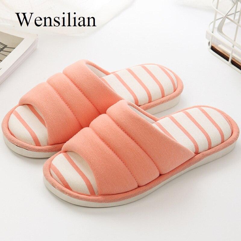 Zapatillas cómodas de plataforma de invierno para mujer, Zapatillas de casa para mujer, zapatillas de piso para interiores, zapatos planos para mujer, Sandalias