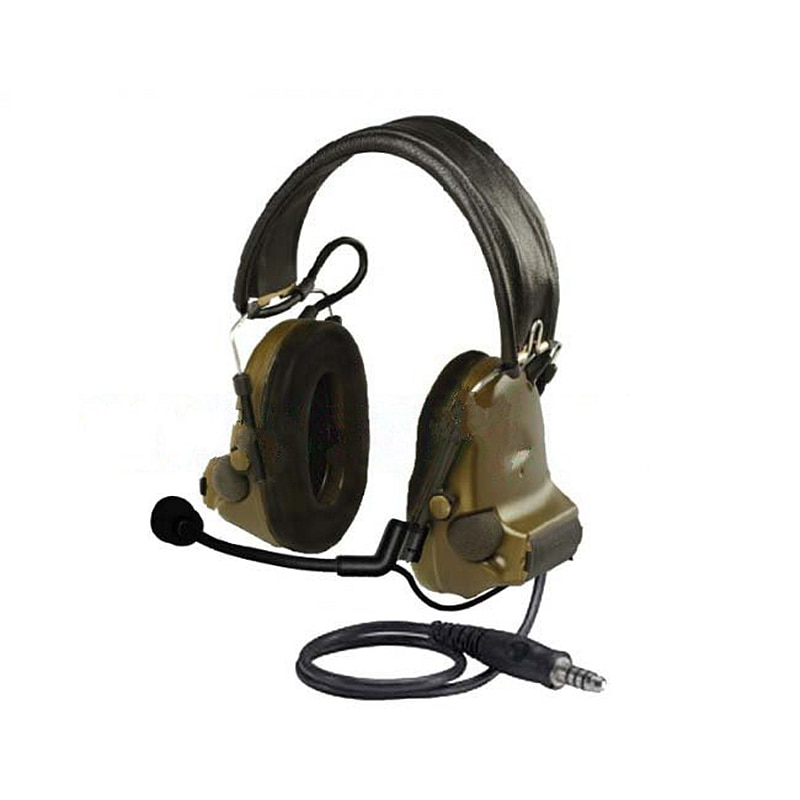 Big Round PTT J Standard for Z Tactical Bowman Headset for Hytera Walkie Talkie PD780/PD700G/580/788/782/785 enlarge