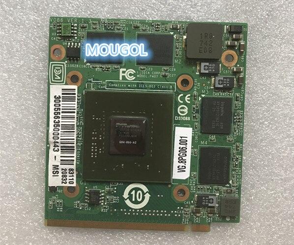 VG.8PG06.001 8600M GT G84-600-A2 512M VGA فيديو رسم بطاقة ل 5920G 5930G 6530G 6920G 6930G 6935G 7520G 7720G 8730G