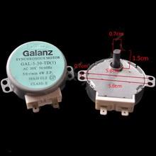 1 pièces pour moteur de plateau tournant GALANZ GAL-5-30-TD GAL-5-30-TD (1) ca 30V 50/60Hz 5/6/min pièces de four à micro-ondes