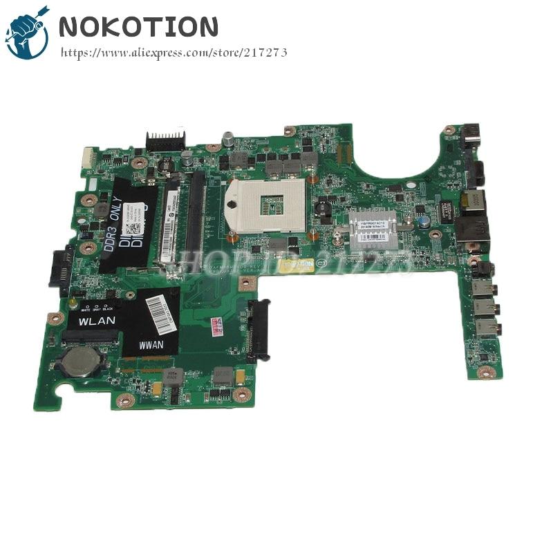 NOKOTION DAFM9BMB6D0 CN-0G936P 0G936P Laptop Motherboard For Dell Studio 1558 Main Board HM57 DDR3