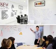 1Pc 45X200cm Zachte Flexibele Whiteboard Message Board Notities Waterdicht Muursticker Met 1 Marker Pen
