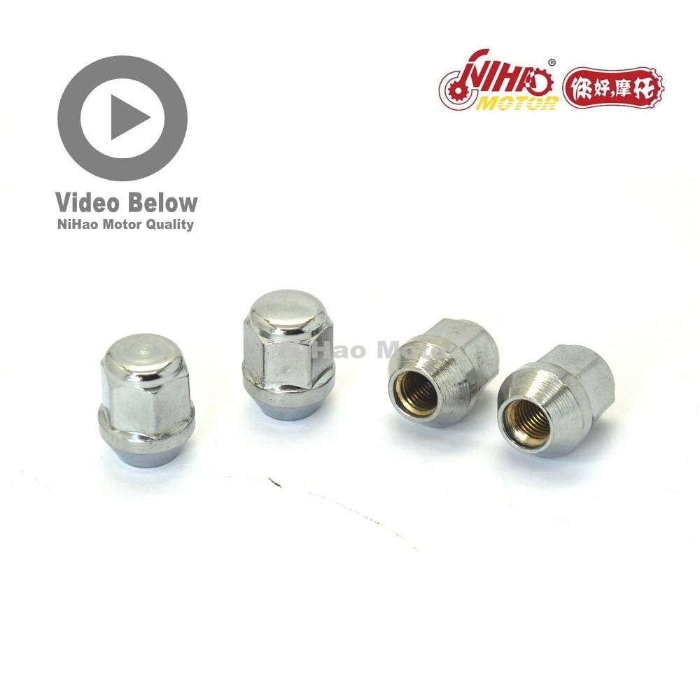 B24 HISUN partes Universal 4 Uds HS500cc tuercas HS400 500, 700, 800, 1000 ATV UTV HS185MR HS 500cc HS500cc ATV UTV 500 Quad motor