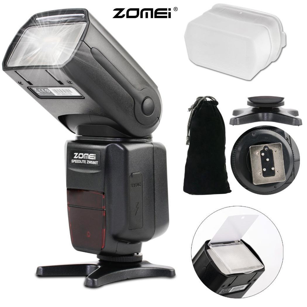 Flash fotográfico sincronización de portátil de alta velocidad para cámara HSS profesional de 18-180mm SLR 5500 K 2,9 segundos, 1/8000 s