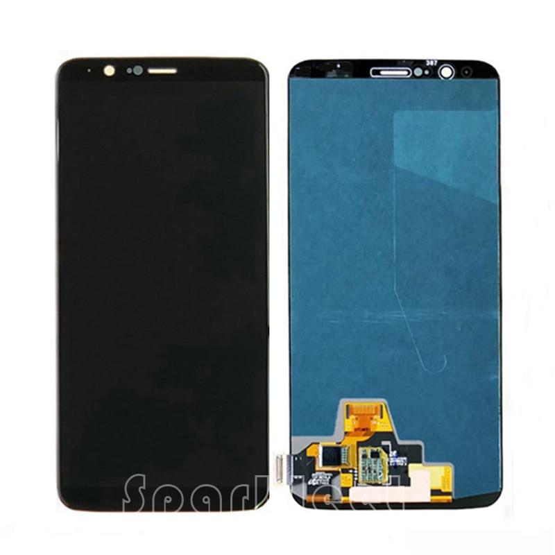 "Pantalla LCD de 6,01 ""para OnePlus 5 T LCD pantalla táctil digitalizador montaje para OnePlus 5 T 1 + reemplazo de teléfono inteligente 5 T A5010"