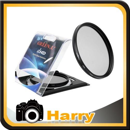 Verde L 40,5mm polarizador CPL filtro Protector de lente filtro para Nik & n J1 V1 con 10-30mm 30-110 lente 40,5 CPL para poder & n pentax
