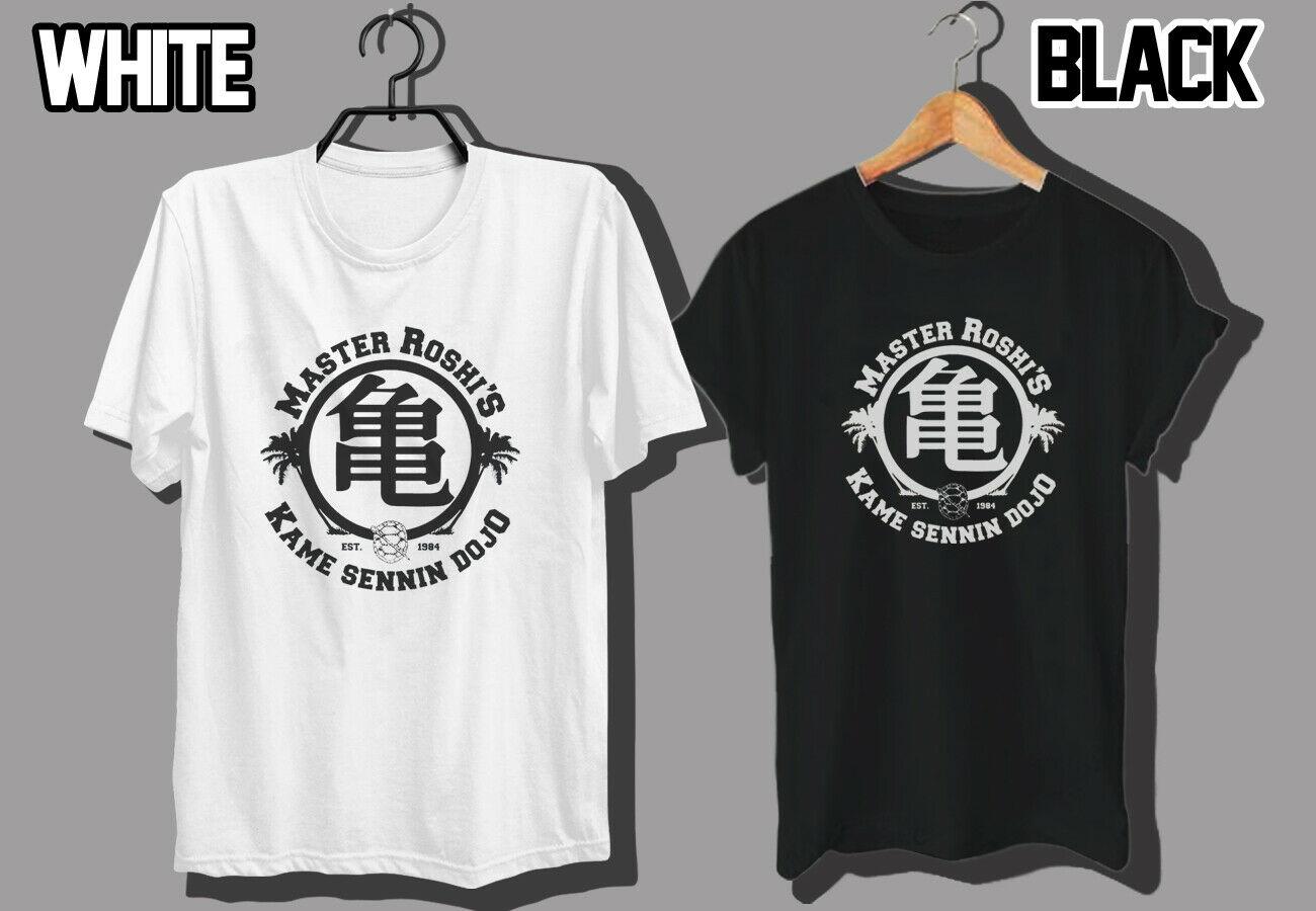 2019 Cool Dragon Ball Z maestro RoshiS Dojo Anime camiseta Unisex Tee