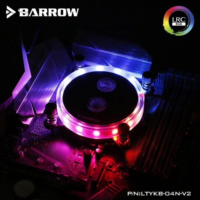 Barrow CPU water block supports Intel LGA 1150 1151 1155 1156 Socket / AM3 AM4 / 2011 X99 X299 / Coper heat sink / synchronous A
