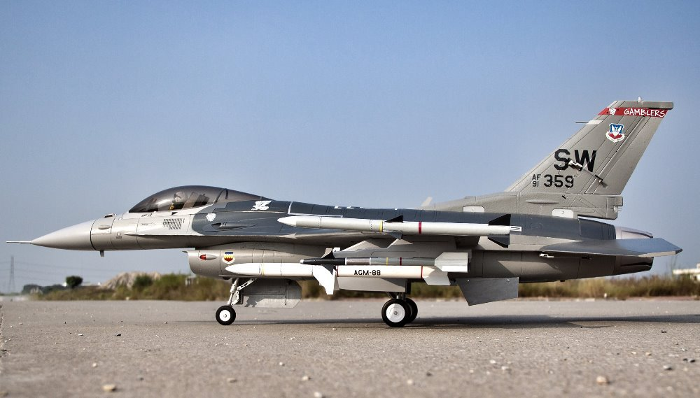 F16 epo 90mmEDF F16 FED PNP formato jet avión F-16C