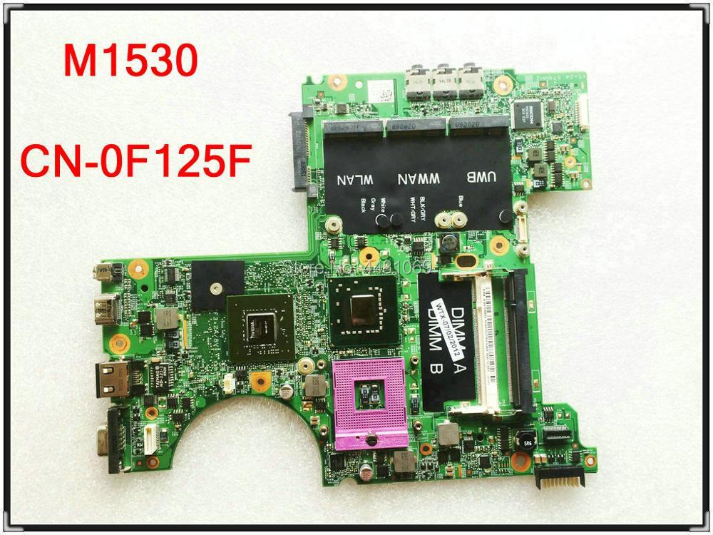 Para Dell XPS M1530 placa base de computadora portátil CN-0F125F PGA478 0F125F...
