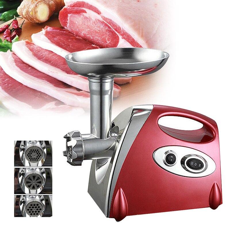 Broyeur de saucisses/viande lourd 220V   Appareil à poncer et à viande