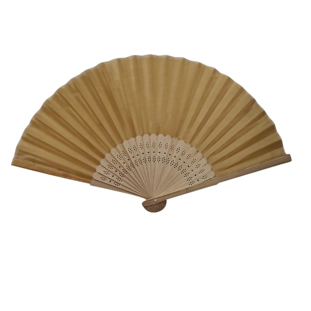 fchinese fan oldable fan Chinese Style Hand folding fan Bamboo Silk Folding Fan Party Wedding Decor mariage champetre #0821