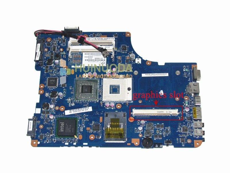 K000010002 материнская плата для Toshiba Satellite A500 L500 L505 Материнская плата для ноутбука PM45 DDR2 с графическим слотом KSWAA LA-4981P