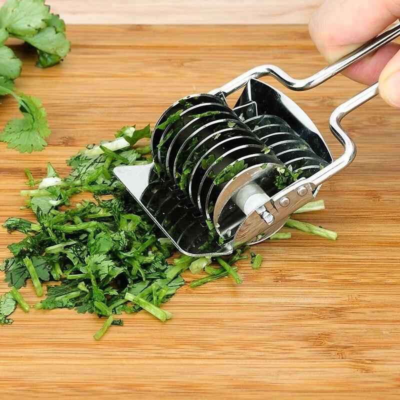 Роллер Докер из нержавеющей стали с решеткой для лапши резак теста паста