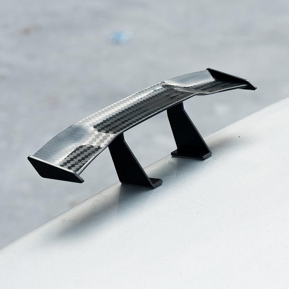 6,7 zoll Universal Auto Schwanz Flügel Carbon Günstige Spoiler Mini Auto Faser Dekoration Auto-styling Auto Faser Dekoration/0,6