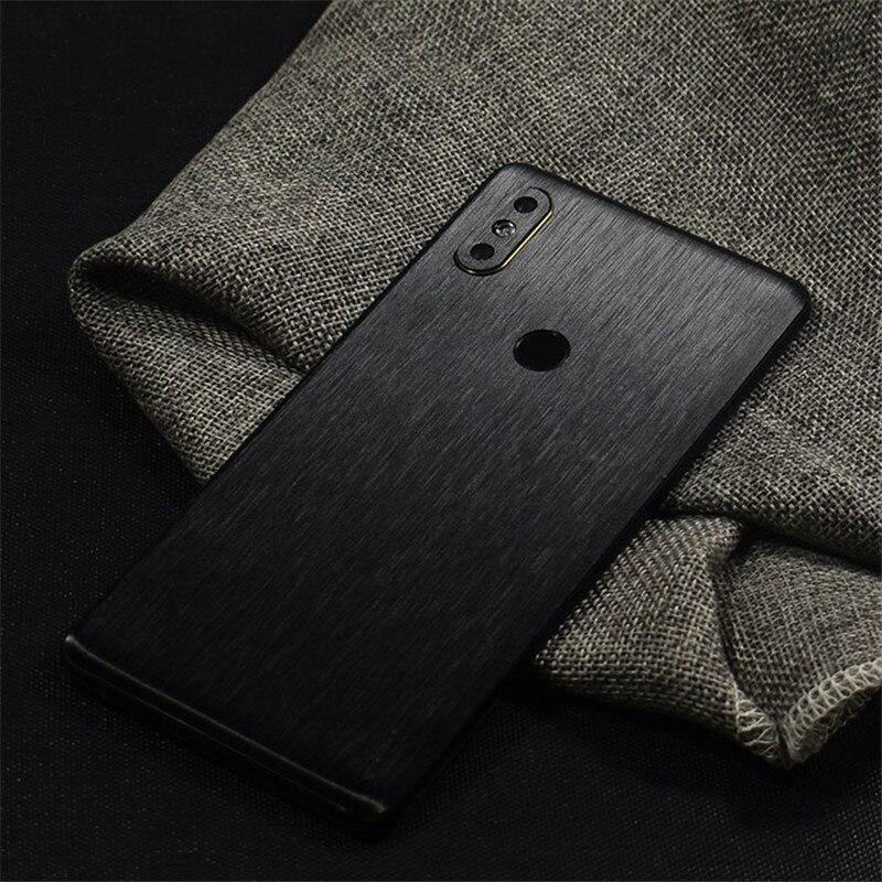 Металлический матовый стикер для телефона чехол для Xiaomi Play Mi9SE Mi8 Lite MIX3 2S Redmi K20 Pro 7 6Pro 5 Plus Note 5 7 Pro