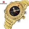 NAVIFORCE – montre de Sport à Quartz pour homme marque de luxe étanche style militaire