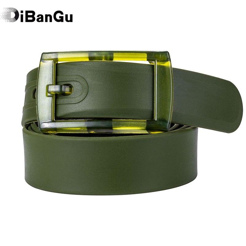 Качественный экологически чистый пластиковый ремень конфетно зеленого цвета