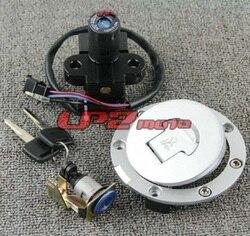 Assento Chave de Bloqueio Interruptor de ignição Tampa do tanque de Combustível para Honda CBR1100XX Super Blackbird 1996-1998