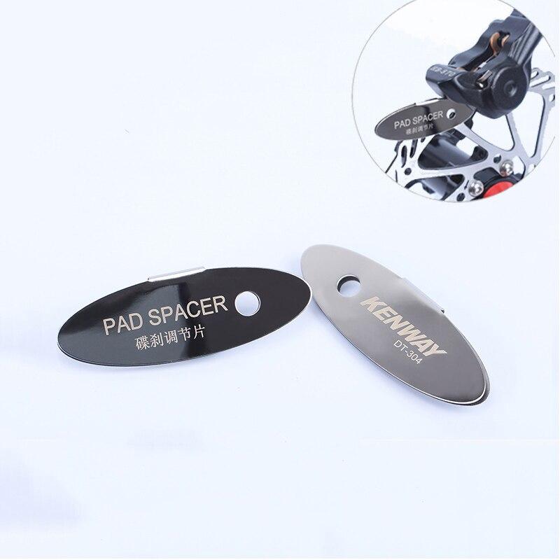 MTB Bicycle Pads Mounting Assistant Brake Pads Rotor Adjusting Alignment Tools  Disc Brake Pads Spacer Bike Repair Kit