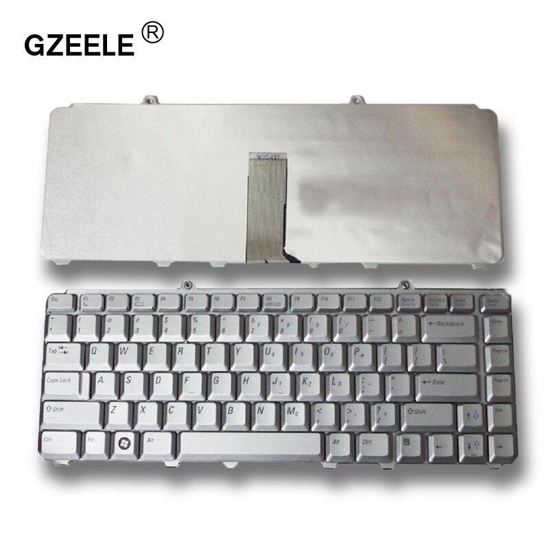 GZEELE новая клавиатура для ноутбука DELL inspiron 1525 M1330 1420 1520 1330 V1500 PP25L M1410 MK750 PP26L 1521 1526 PP14L US silver