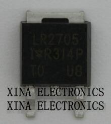 IRLR2705PBF IRLR2705 LR2705 28A 55 V TO-252 D-PAK ROHS ORIGINAL 25 Unids/lote Envío Gratis Electrónica kit composición
