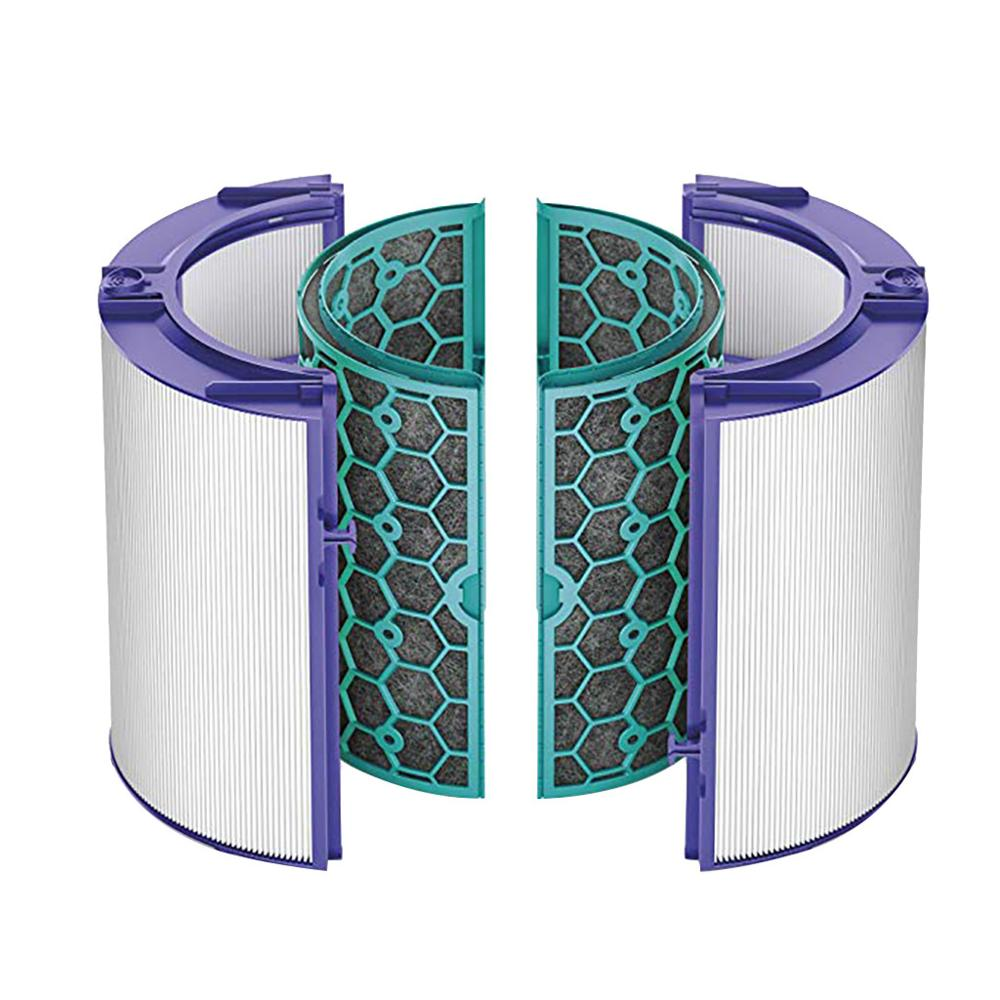 Filtro de carbono para Dyson TP04/HP04/DP04/TP05/HP05 purificador Hepa fresco puro sellado de dos etapas sistema de filtro de 360 grados #10
