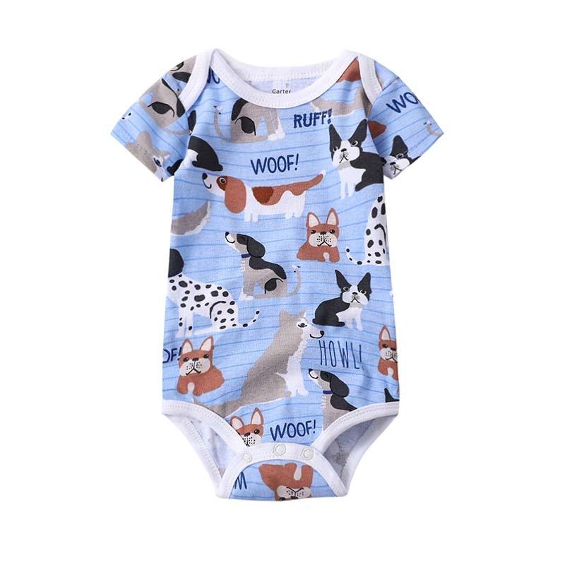 2019 NEW Summer Bodysuit Baby Jumpsuit Clothes Boy Cartoon Infant Newborn Girl Clothing Overall short sleeve