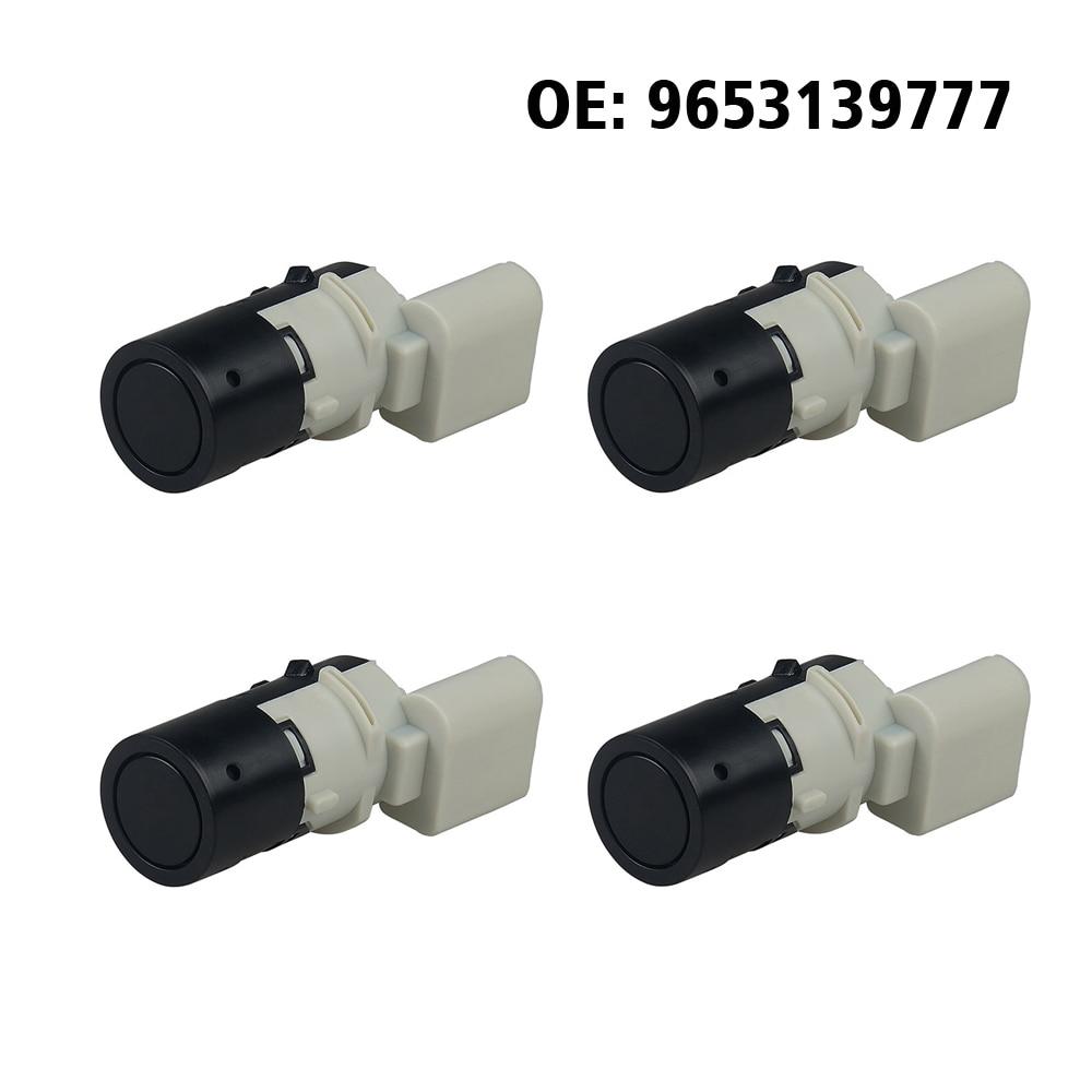 4 pçs/lote Parktronic PDC Sensor de Estacionamento 9653139777 Para Peugeot 307 3A 3B 3C 3E 3H CC SW 2000 2001 2002 2003 2004 2005 2006-2014