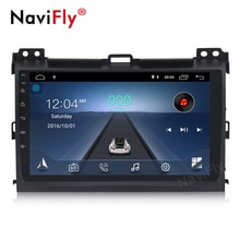 NaviFly Anroid10 4Core 32G ROM 2G RAM Car Multimedia player for Toyota Prado 120 Land Cruiser 2004-2009 Lexus GX47 support OBD