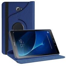 360 De Protection étui pour samsung Galaxy Tab A A6 10.1 2016 SM-T580 T580N T585 T585C Tablette PC avec Support Auto Réveil + Stylo