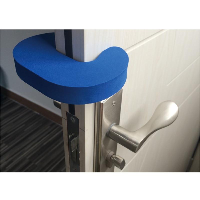 4 Uds C Forma niños para puertas para bebés tope seguridad puerta Protector dedo puerta dedo seguridad titular