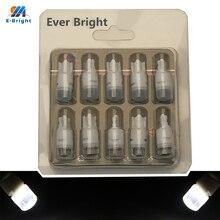 YM E-lampes Instrument automobile 12V DC   Nouveau 10 pièces T10 W5W 3030 2 SMD en céramique 194 168, ampoules, blanc bleu jaune 120 Lumens