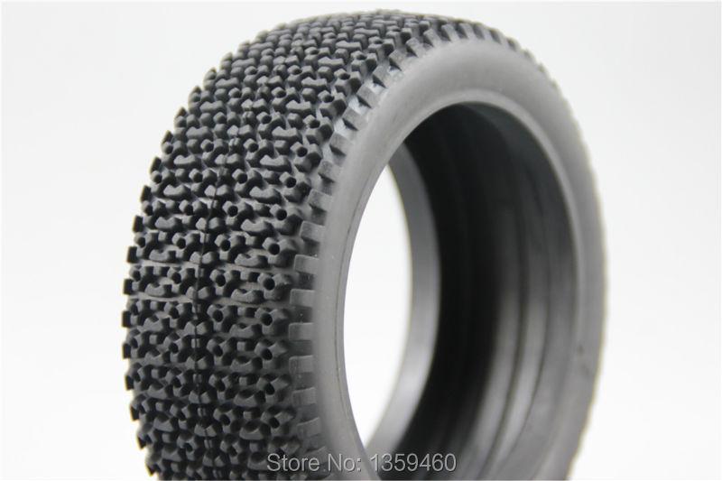 4 pces 1/8 buggy pneus (triângulo) fora de estrada pneu se encaixa para 1/8 buggy 1/8 pneu 26013