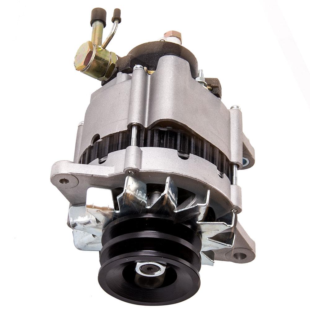 80 A 12 V alternador para Nissan Urvan patrulla GQ GU TD42 E24 motor TD27 2.7L diesel 1987-1993 LR170-407