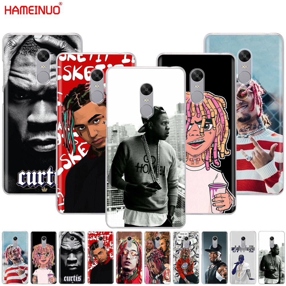 Чехол для телефона HAMEINUO 50 Cent Jay-Z Lil Pump Cover для Xiaomi redmi 5 4 1s 2 3s pro PLUS redmi note 4 4X 4A 5A