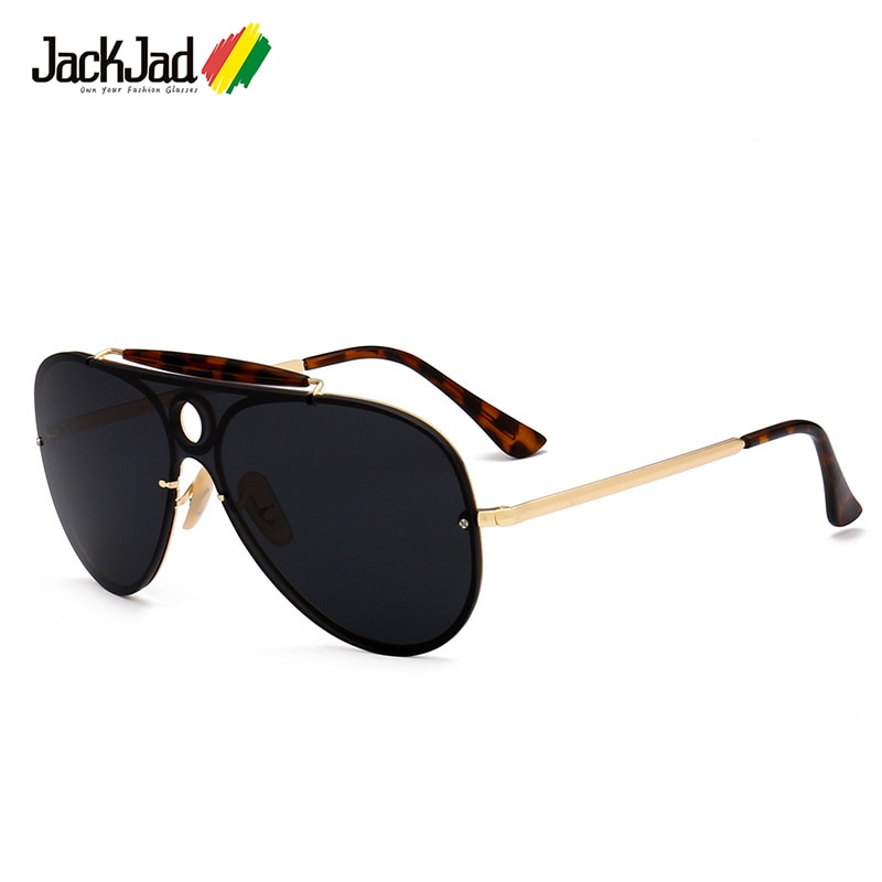 JackJad 2018 moda clásica 3581 estilo aviador aviación gafas De Sol mujeres hombres Marca Diseño UV400 gafas De Sol