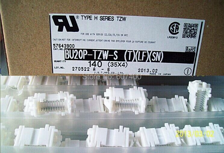 BU20P-TZW-S header JST Connectors terminals housings 100% new and Original parts BU20P-TZW-S(T)(LF)(SN)