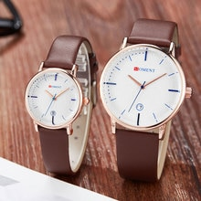 Simple Date Display Creative Lover Watch Women Men Quartz Watch Female And Male Clock Fashion Watche